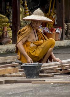 Carpenter monk.