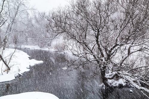 Heavy Winter Flow