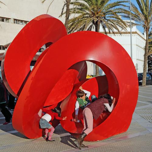 Art is where the fun of play is - Cadiz, Spain