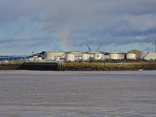 The Port Of Cardiff Under Moody Skies