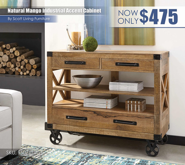 Natural Mango Industrial Accent Cabinet_Scott Living_950711