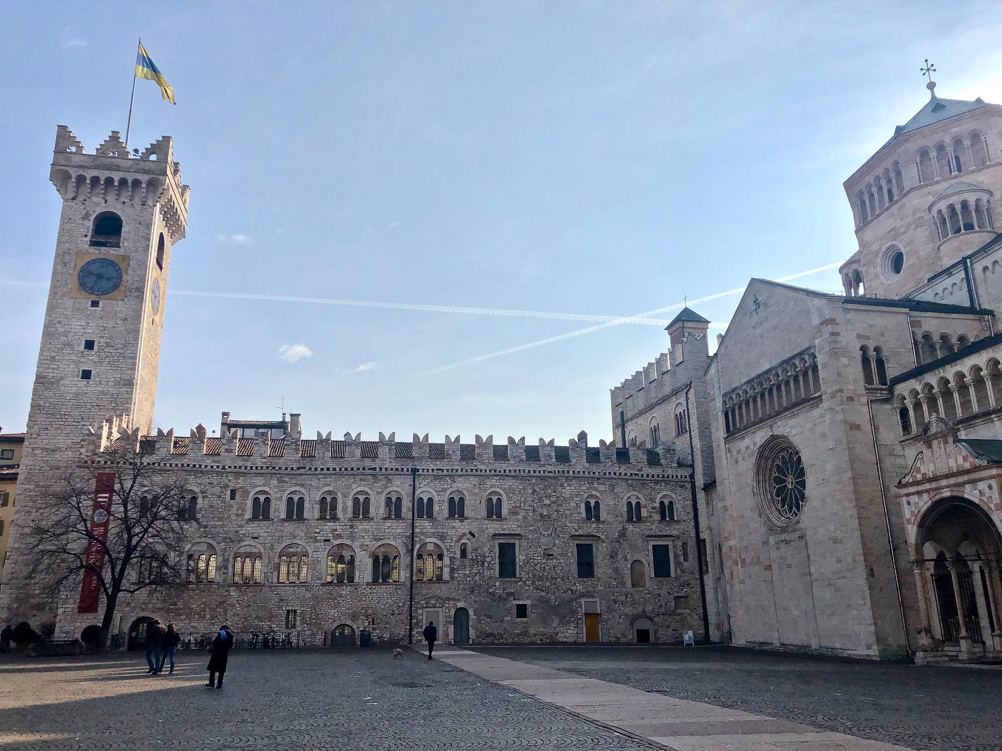 Itinerario di Trento - Palazzo Pretorio e Torre Civica