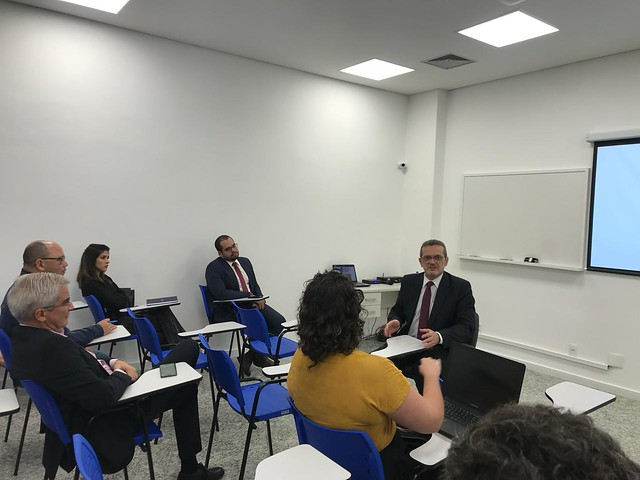 Palestra A Importância do Mestrado e Doutorado para a Atuação do Advogado 14-03-2019