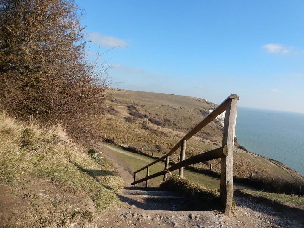 Down some steps Dover to Deal