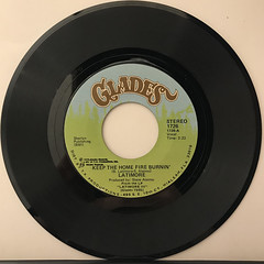 LATIMORE:KEEP THE HOME FIRE BURNIN'(RECORD SIDE-A)