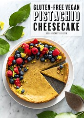 Gluten-free Pistachio Cheesecake