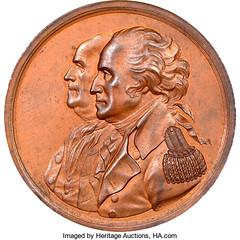 Washington - Franklin American Beaver Medal obverse