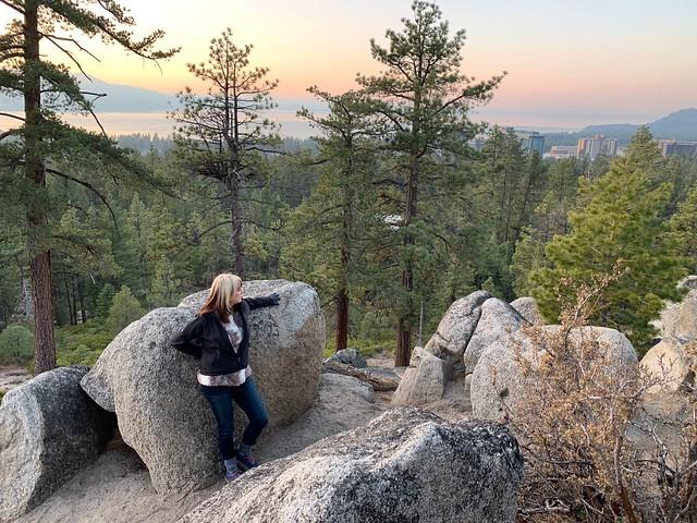 Hiking the Van Sickle Bi-state Park