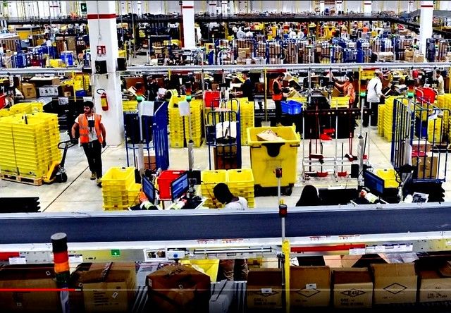 Amazon Is the New Factory