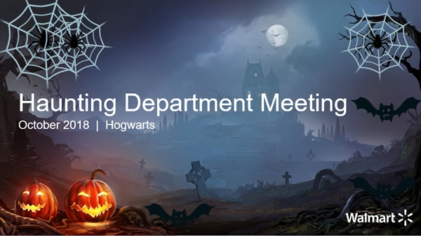 Get (Spookily) Creative with Your Department Meeting Presentation (PowerPoint 2013)