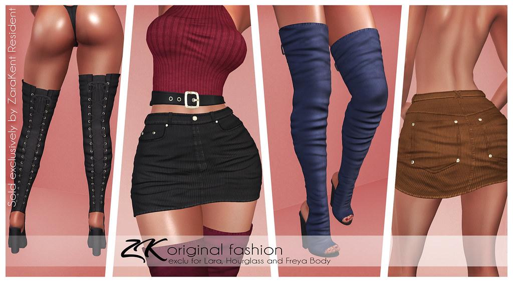-:zk:- Fia Skirt&Boots @ COSMOPOLITAN EVENT