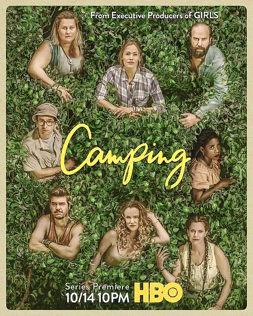 camping poster