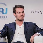 Alex Knowles during Plenary session 2 at IRU World Congress in Muscat, Oman
