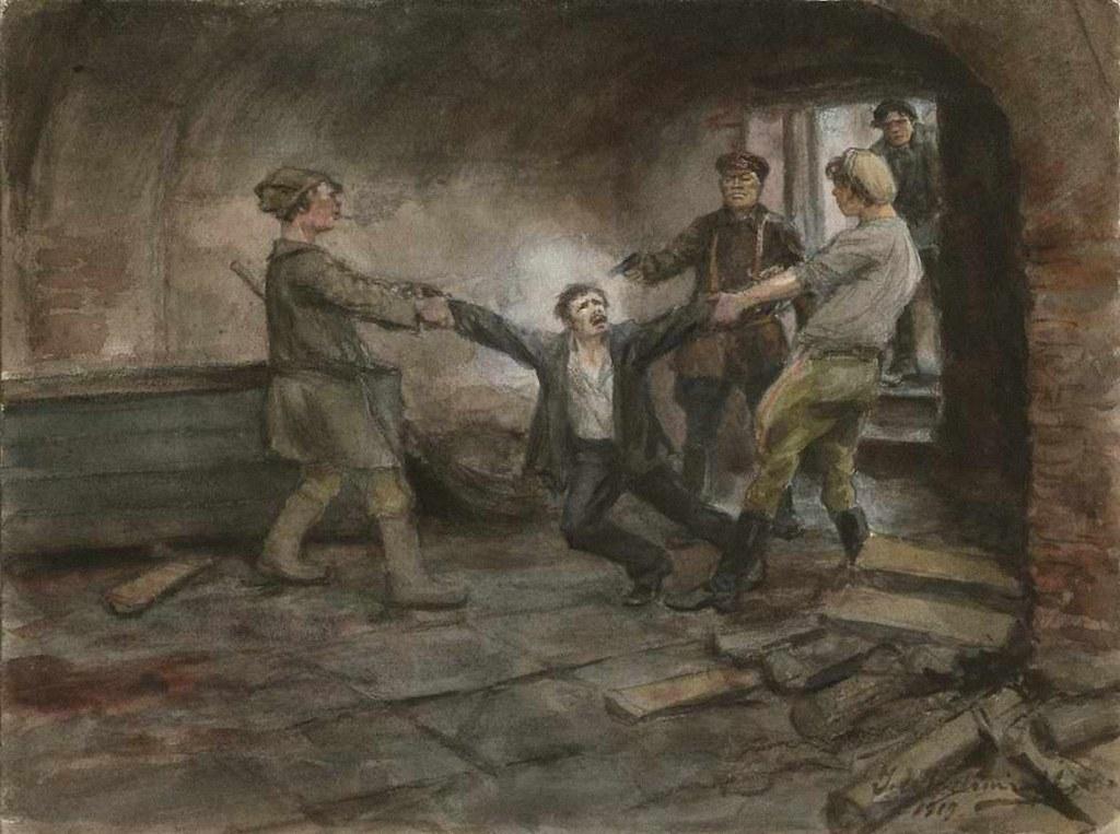 1919. В подвалах ЧК