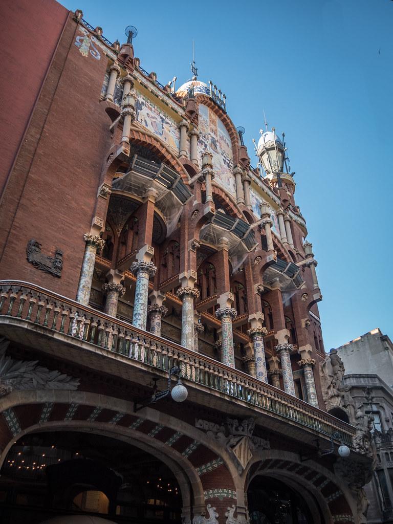Palais de la Musique Catalane...+ NB 45263797854_54cf4c1761_b