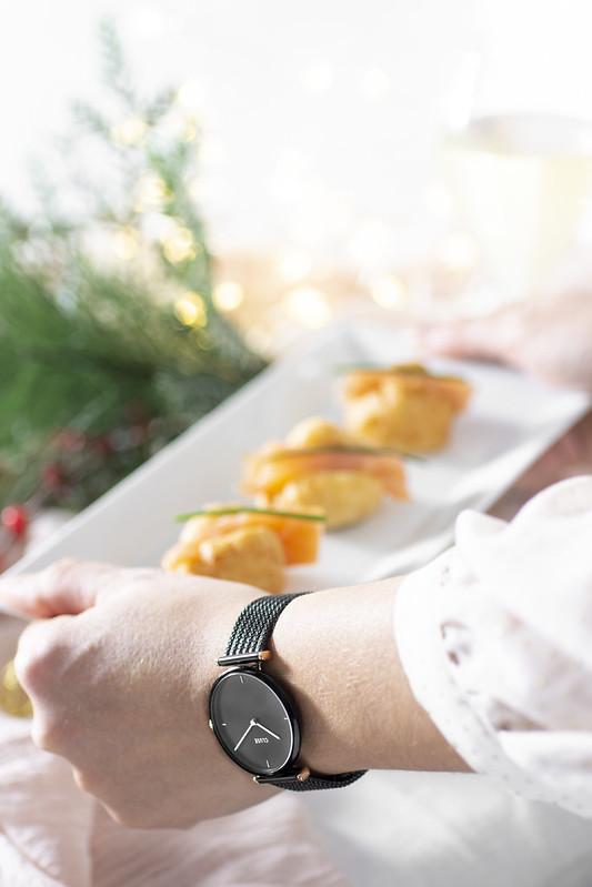Pettole e salmone + Cluse Watch