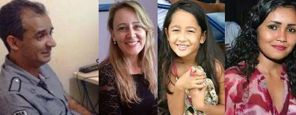 Tribunal do Pará mantém na cadeia acusado de triplo homicídio em Itaituba, Altair e as vítimas