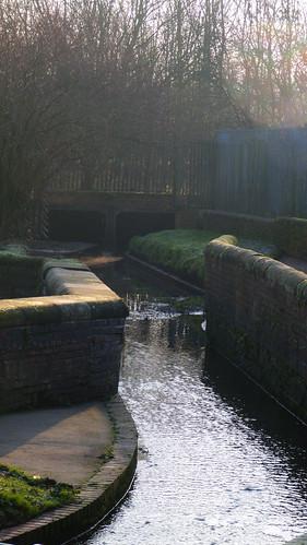 Smestow, crossing water bridge