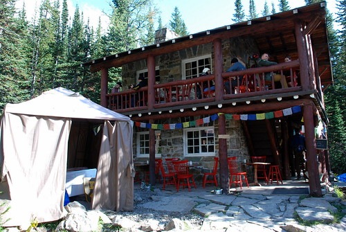 Banff Plain of Six Glaciers Teahouse. From History Comes Alive in Banff National Park