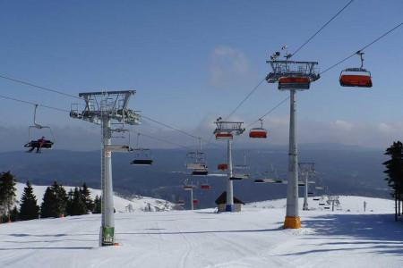 Zieleniec – lanovkový ráj v Orlických horách
