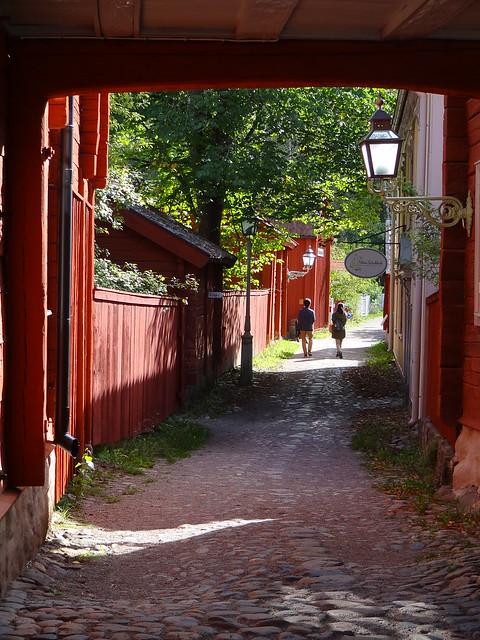 En vacker septemberdag i Gamla Linköping