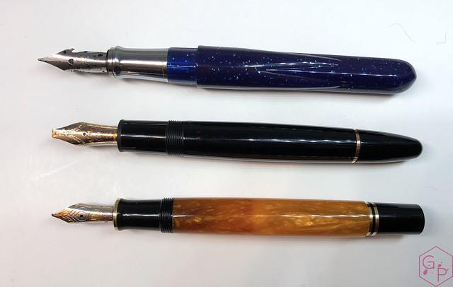 Conklin Empire Stardust Blue Fountain Pen with OmniFlex Nib 10