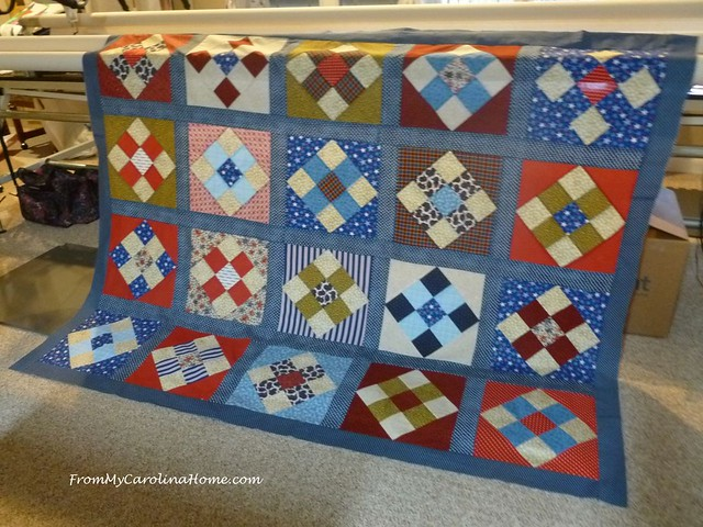 A Collaborative Quilt Of Valor From My Carolina Home