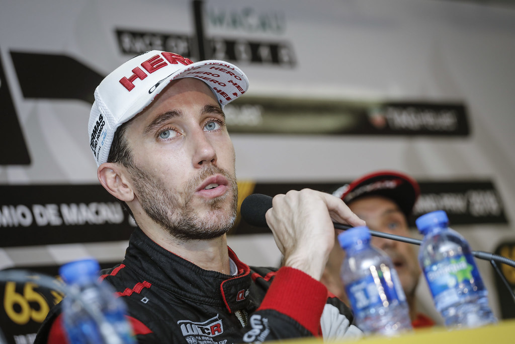 GUERRIERI Esteban, (arg), Honda Civic TCR team ALL-INKL.COM Munnich Motorsport, portrait during the 2018 FIA WTCR World Touring Car cup of Macau, Circuito da Guia, from november  15 to 18 - Photo Francois Flamand / DPPI