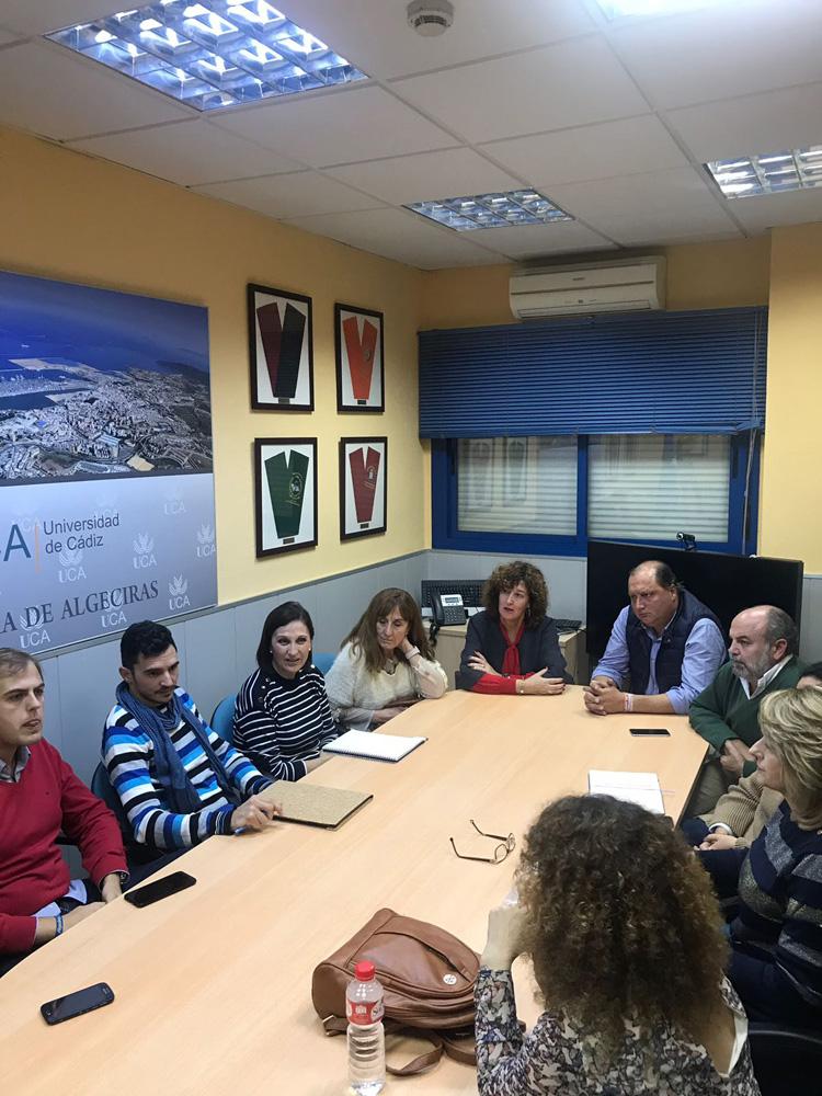 El PP se reúne con representantes de la UCA en Algeciras para escuchar sus necesidades