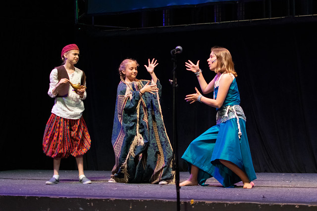 Aladdin Jr Somerville Musical Theater Program 2018