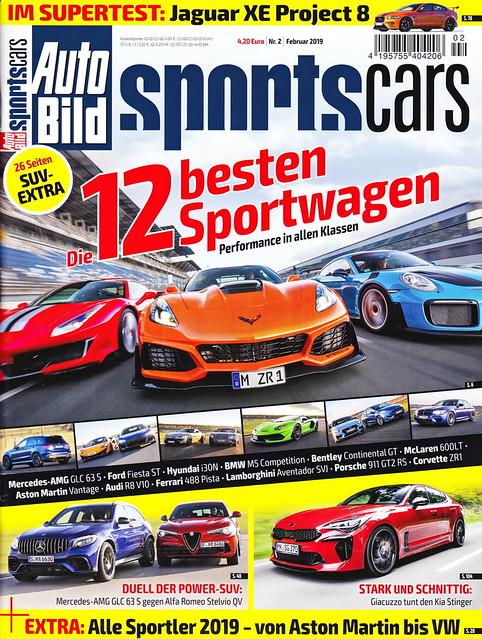 Auto Bild Sportscars 2/2019