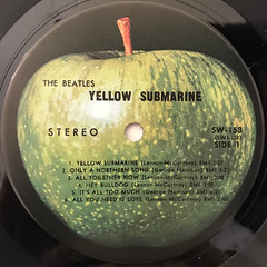 THE BEATLES:YELLOW SUBMARINE(LABEL SIDE-A)