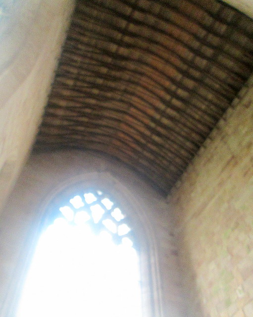 Jedburgh Abbey Wooden Ceiling