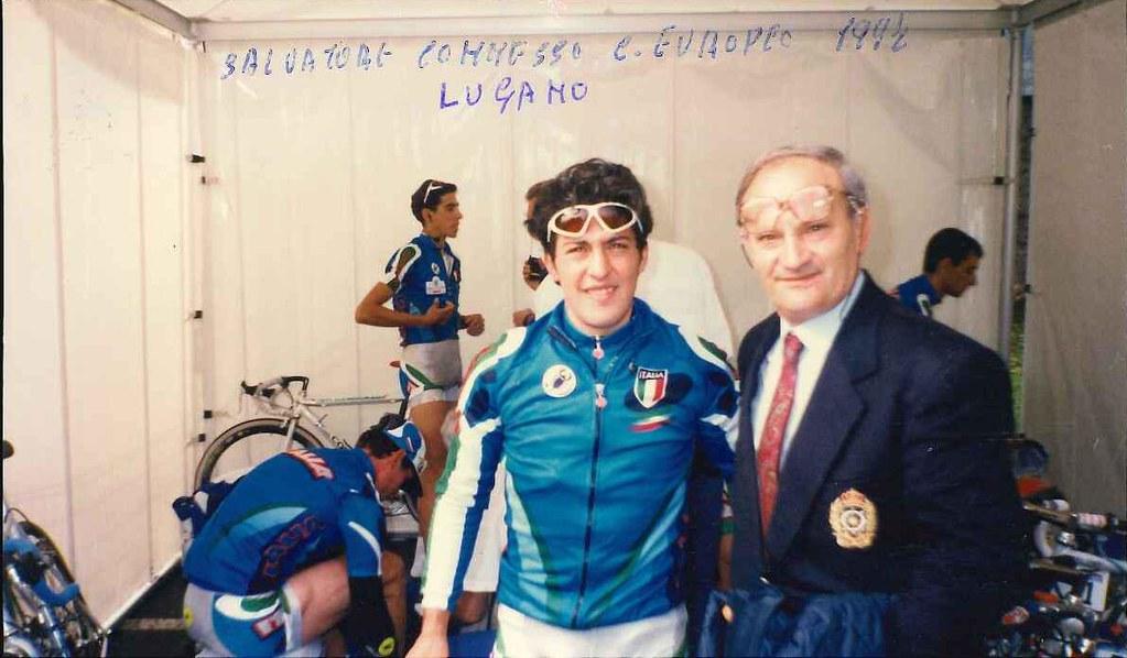 Vittorio con Salvatore Commesso a Lugano