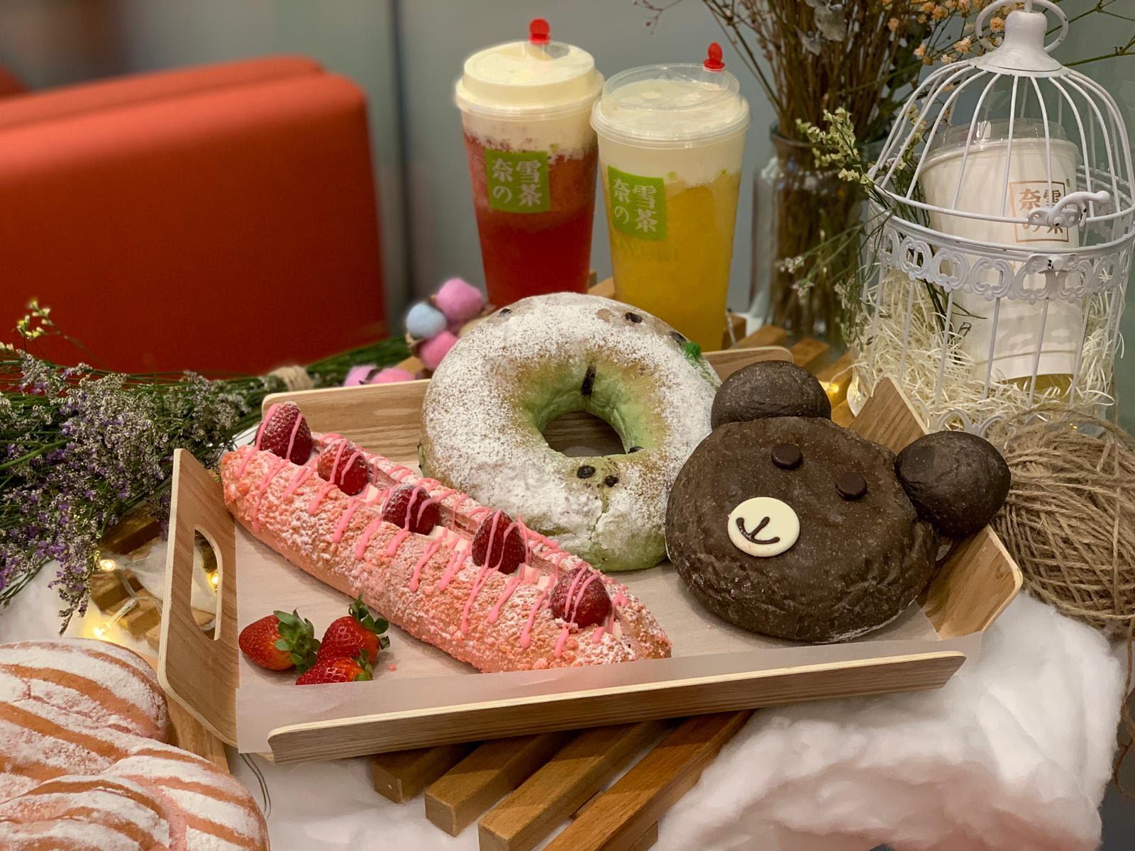 [SG EATS] Popular Cheese Tea Bakery Café Nayuki  (奈雪の茶) Opening Its First Overseas Store At VivoCity !