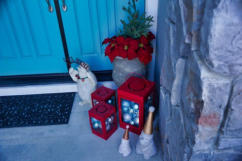 2018-12-06 - Our Front Door Christmas Decorations