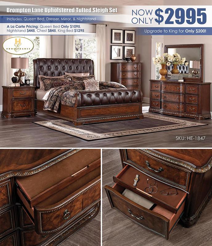 Brompton Upholstered Sleigh Bedroom Set_HE-1847-BED-SET_Layout