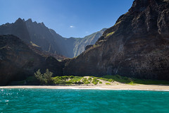 Honopu Strand Na Pali Coast Kauai Hawaii