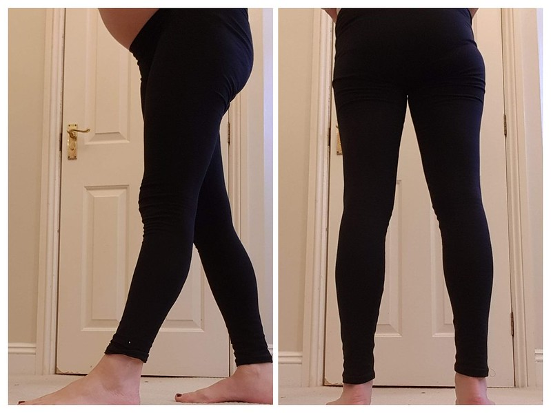 Basic black Virginia leggings