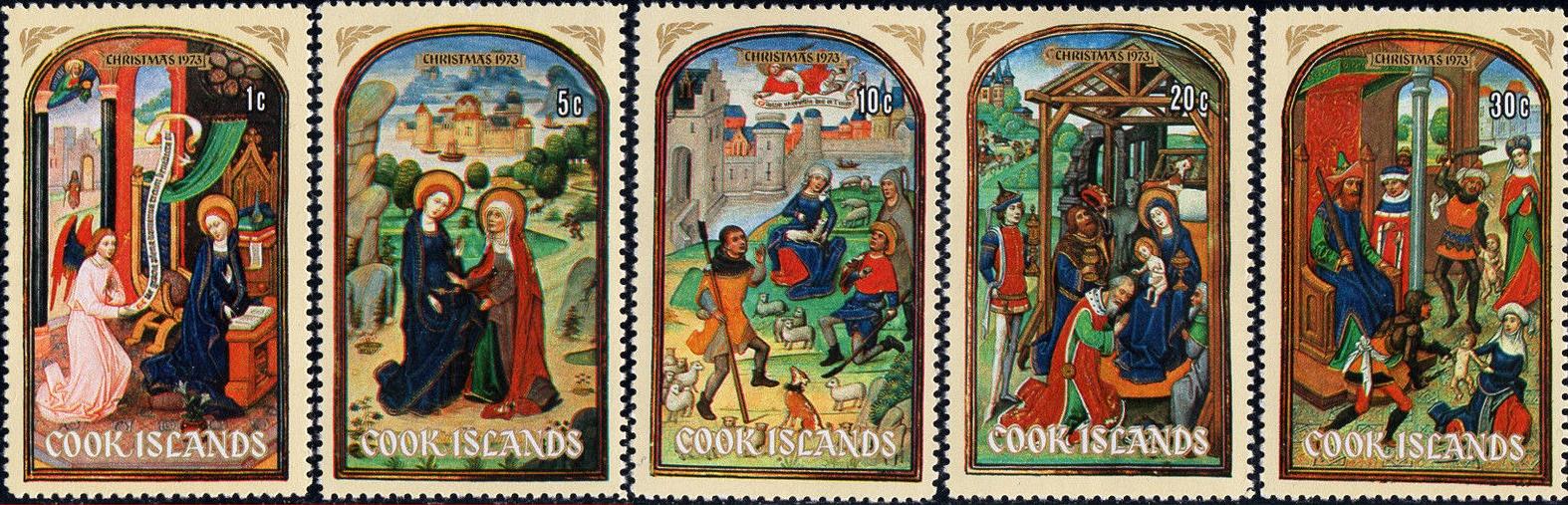 Cook Islands - Scott #364-368 (1973)
