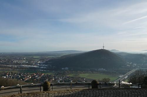 Die Porta Westfalica - der Weserdurchbruch