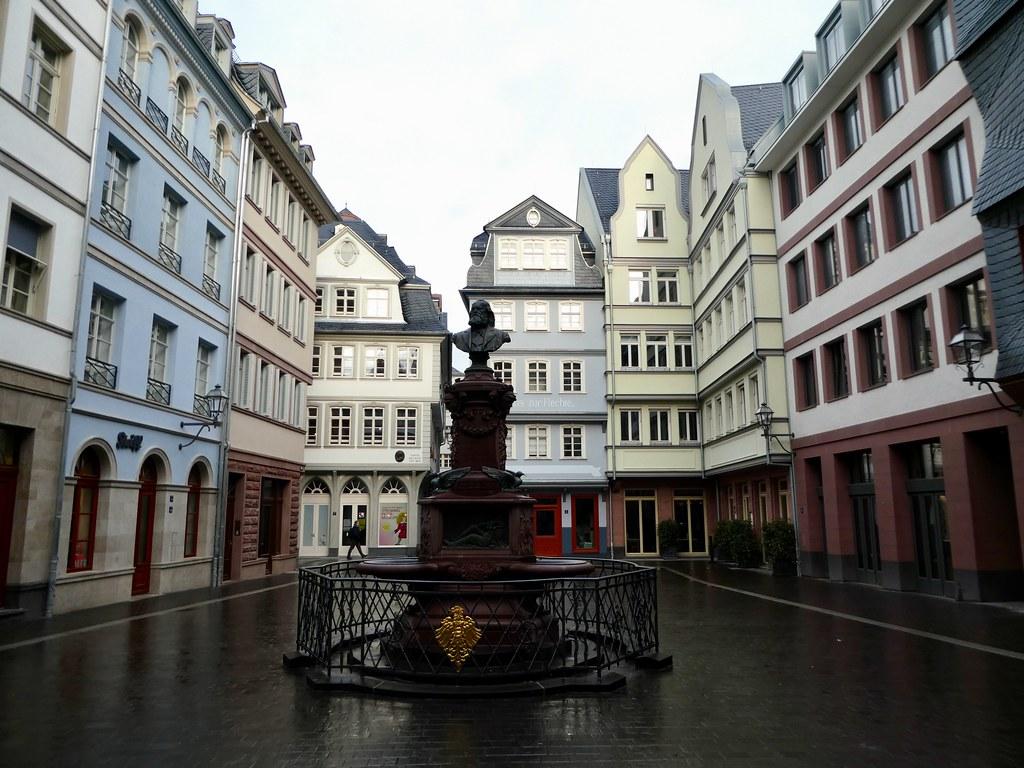 Frankfurt old town centre