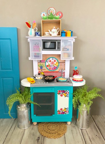 Pioneer Woman inspired kitchen diorama.