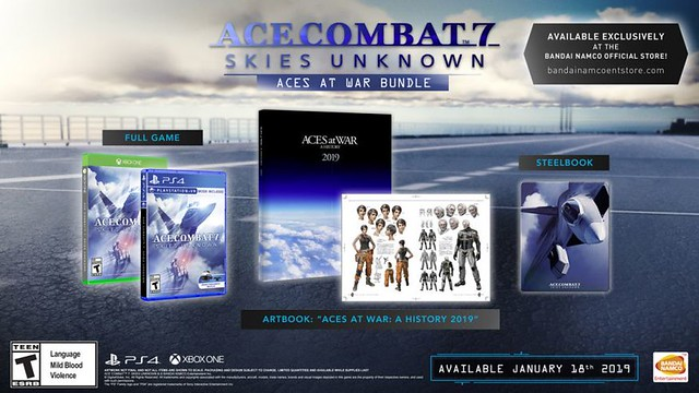 Pack Combinaison d'As Combat 7 Aces at War
