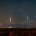 Light Pillars on the Prairies