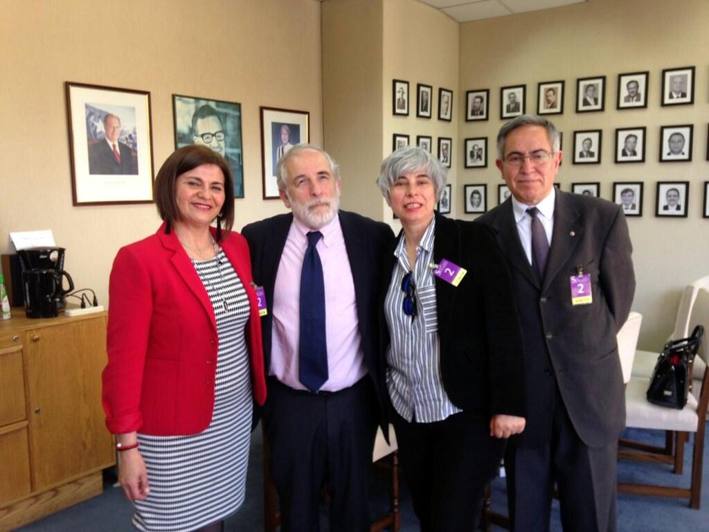 FENADAJ se reúne con Senado Carlos Montes y Ricardo Lagos Weber – 12 Noviembre 2018