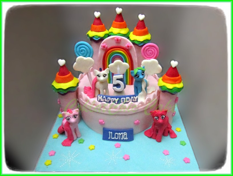 Cake my Little Pony Castle ILONA 18 cm