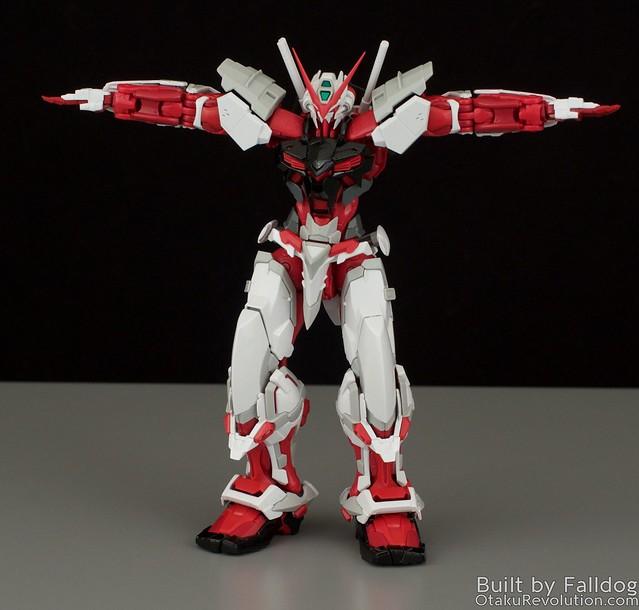 HiRM Astray Red Frame Gundam 27
