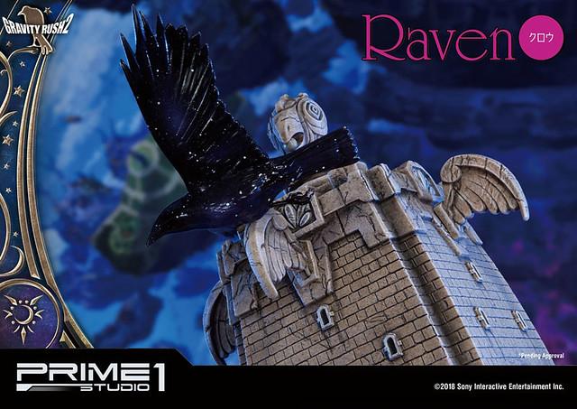 Prime 1 Studio - Concept-Masterline《重力異想世界2》庫勞(拉文)雕像(コンセプトマスターライン/ GRAVITY DAZE 2: クロウ スタチュー)