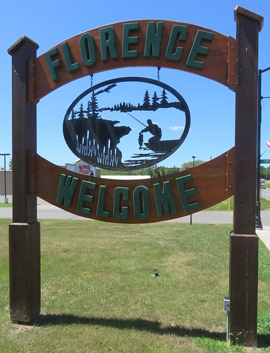 Florence Welcome Sign (Florence, Wisconsin)